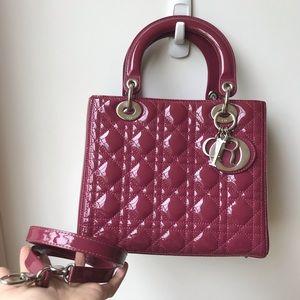 SOLD Dior medium lady in patent